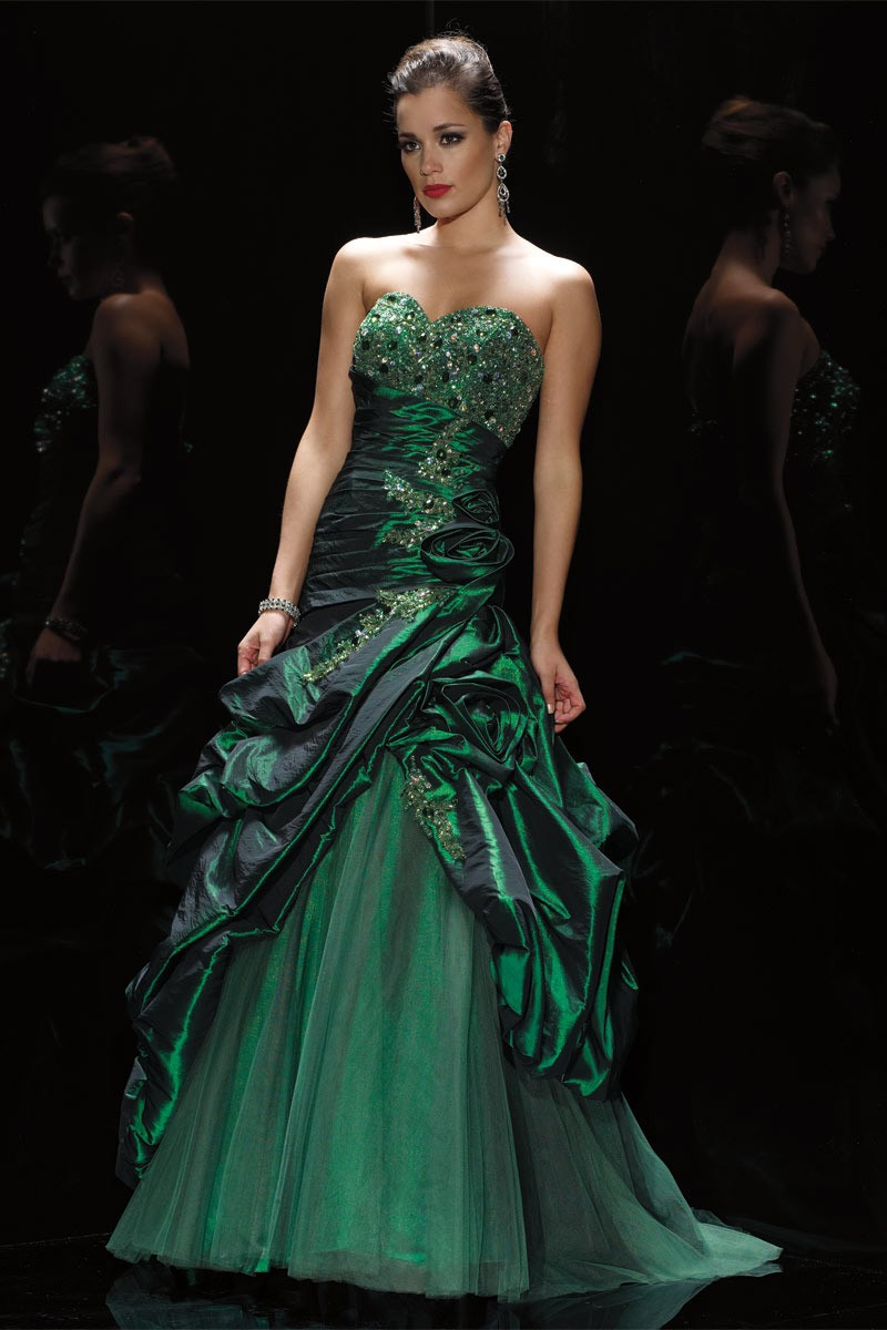 Alyce Prom Dress Front 5403