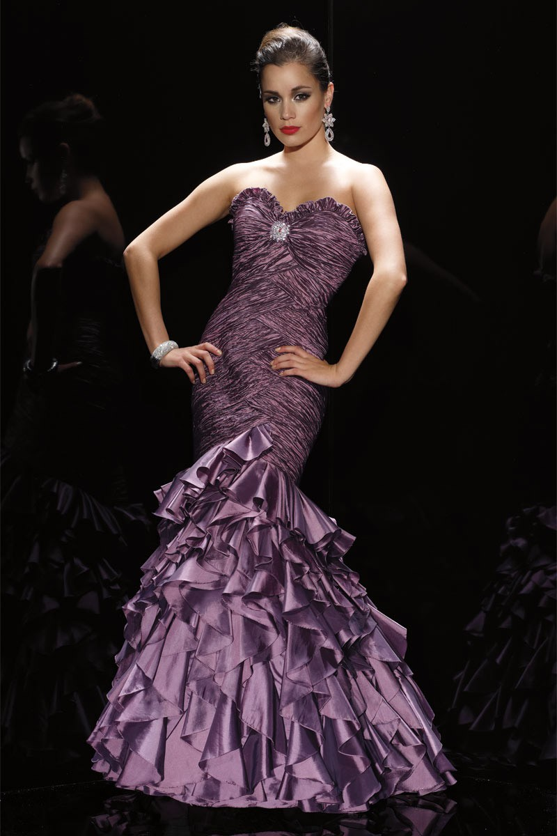 Alyce Prom Dress Front 5407