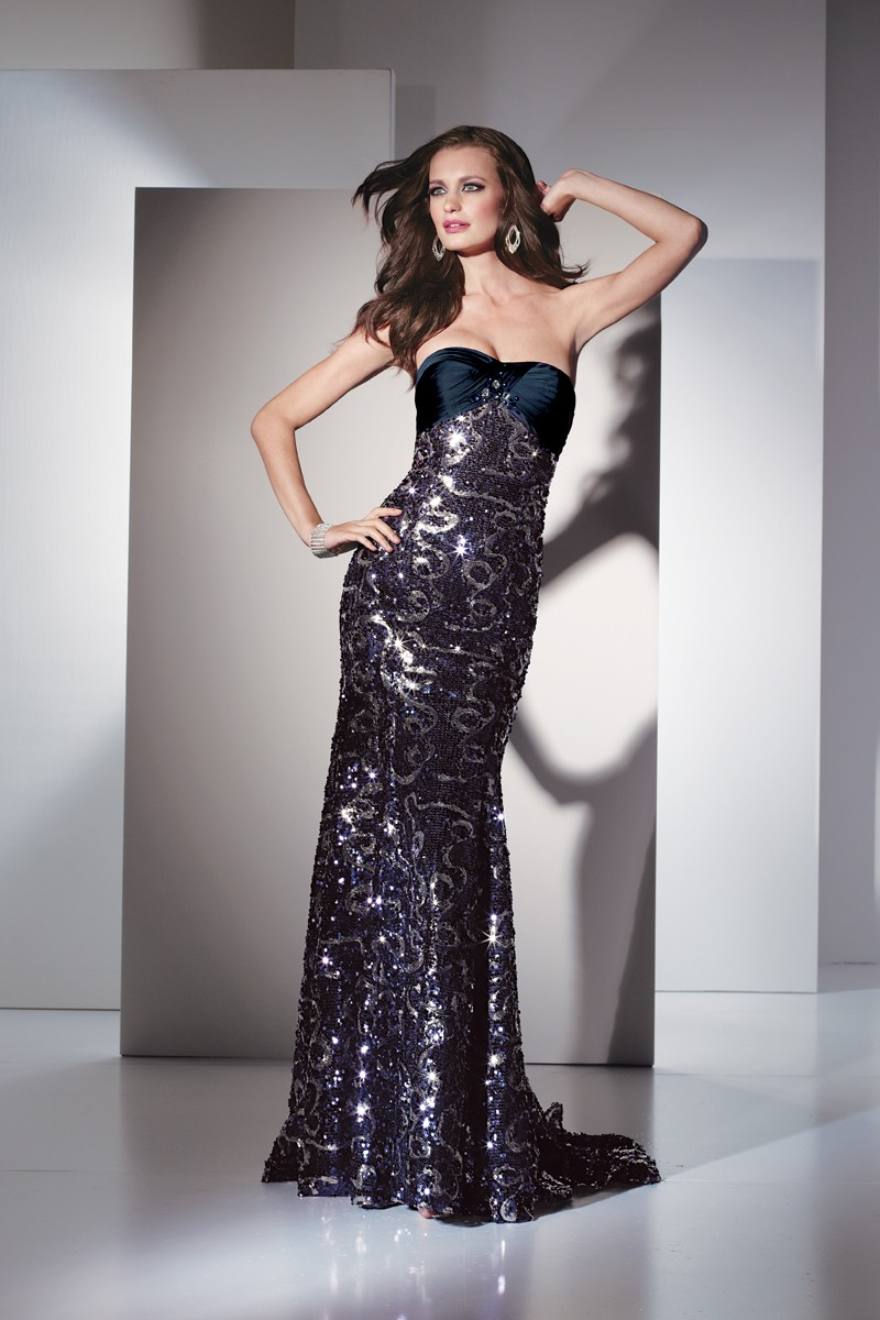 Alyce Prom Dress Front 5429