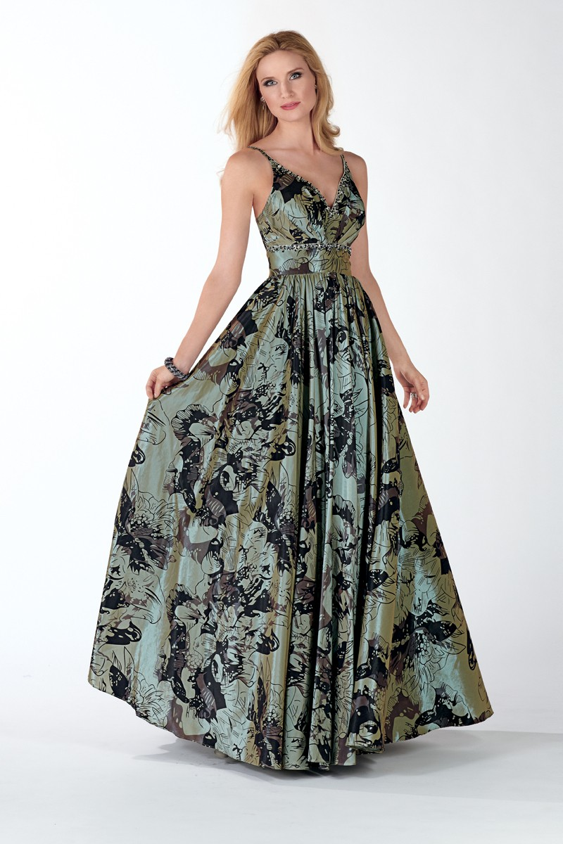 Alyce Prom Dress Front 5437