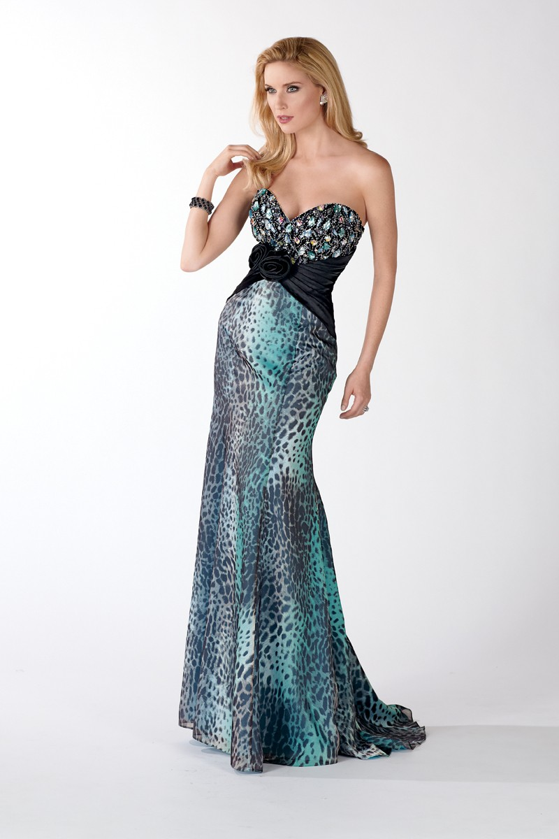 Alyce Prom Dress Front 5440
