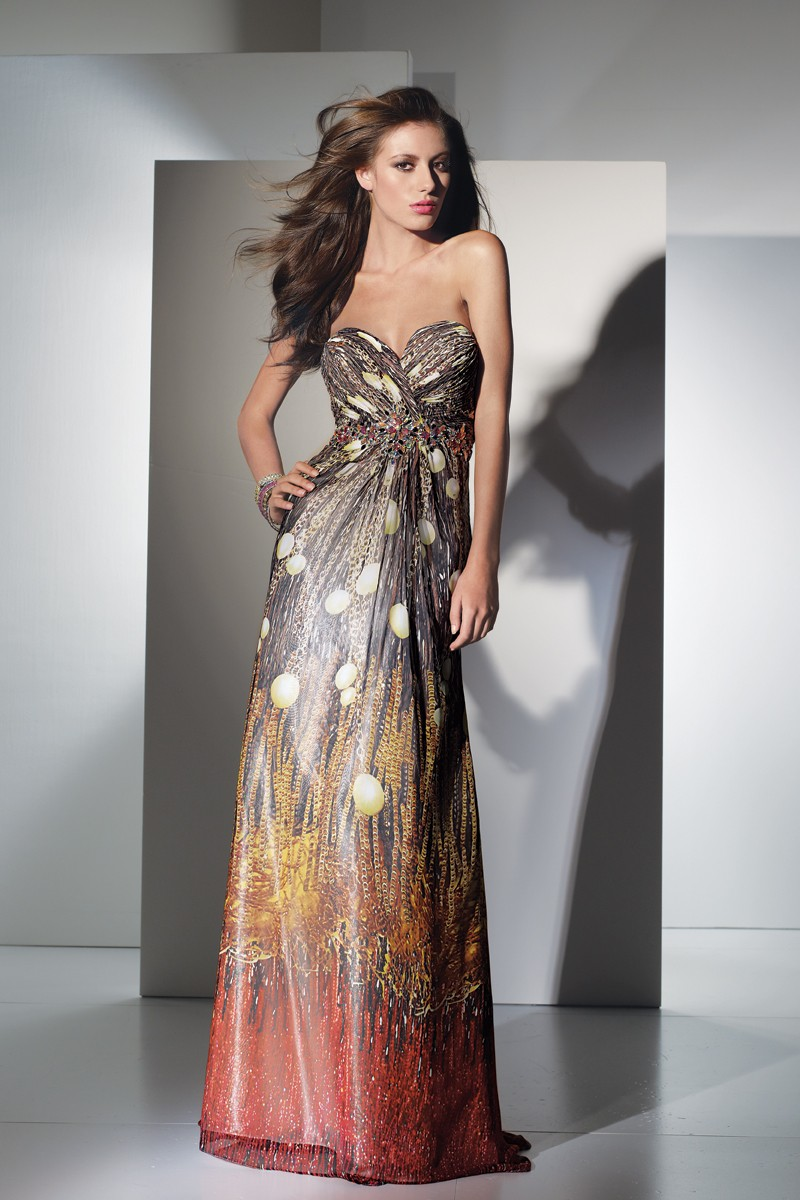 Alyce Prom Dress Front 5446