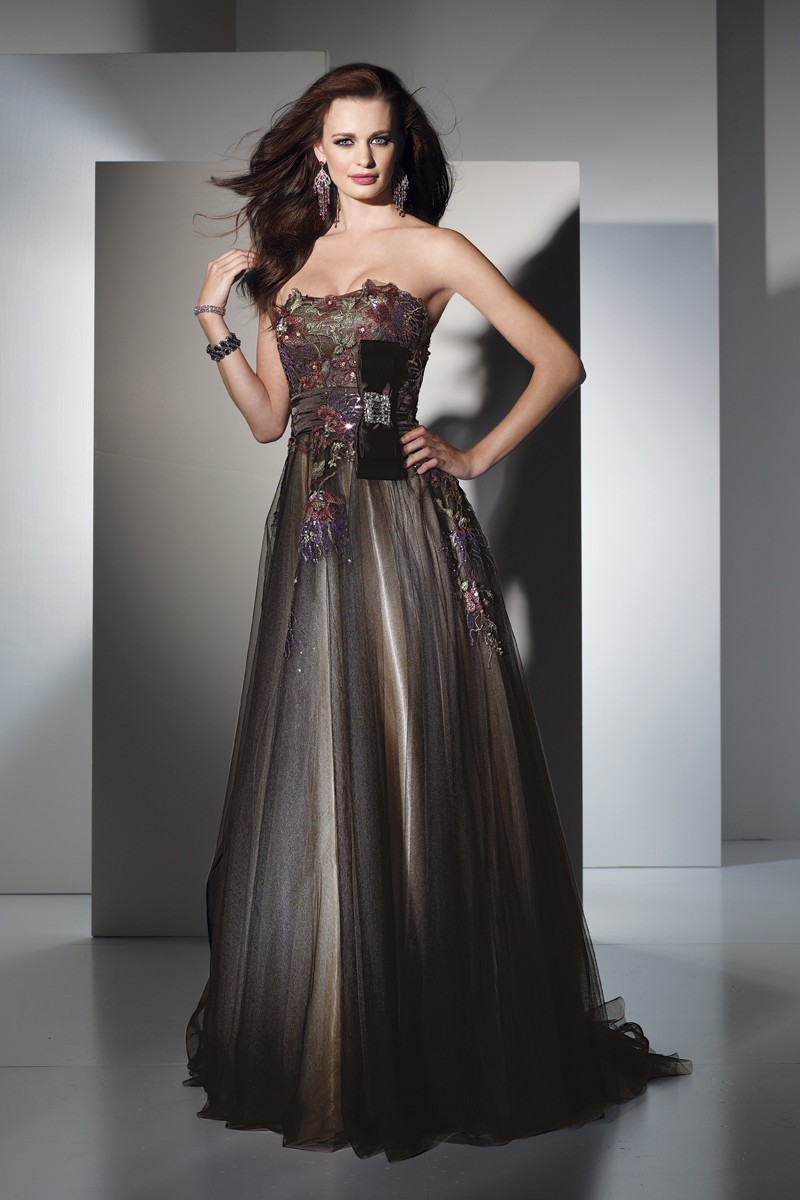Alyce Prom Dress Front 5447