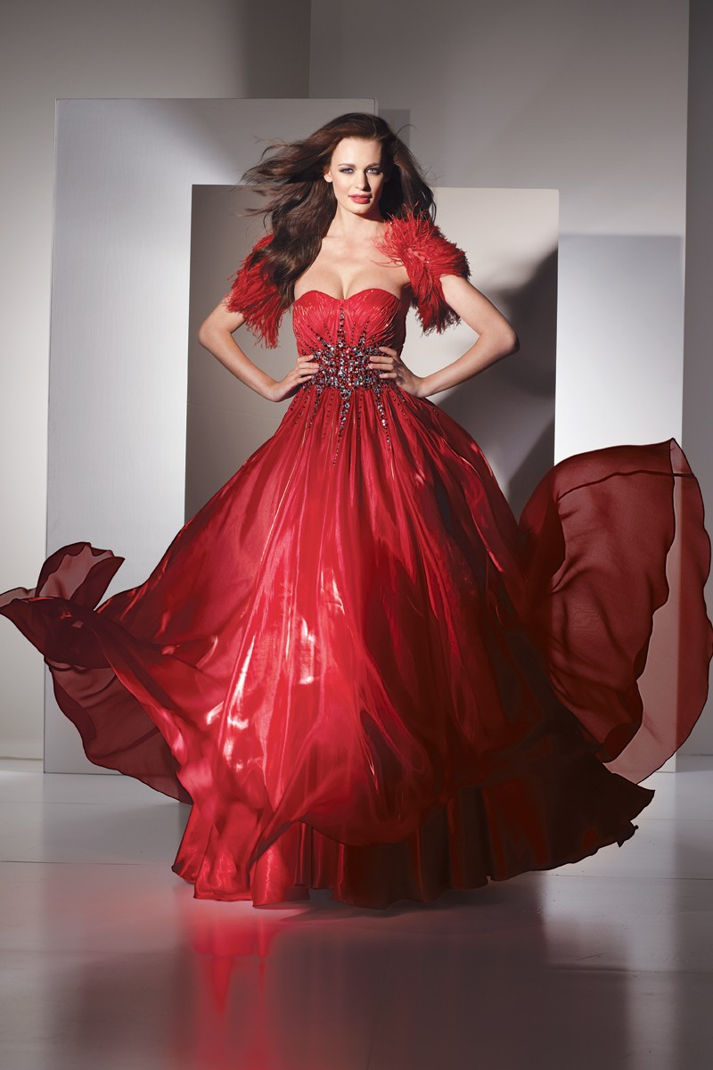 5454 Alyce Prom Dress Front